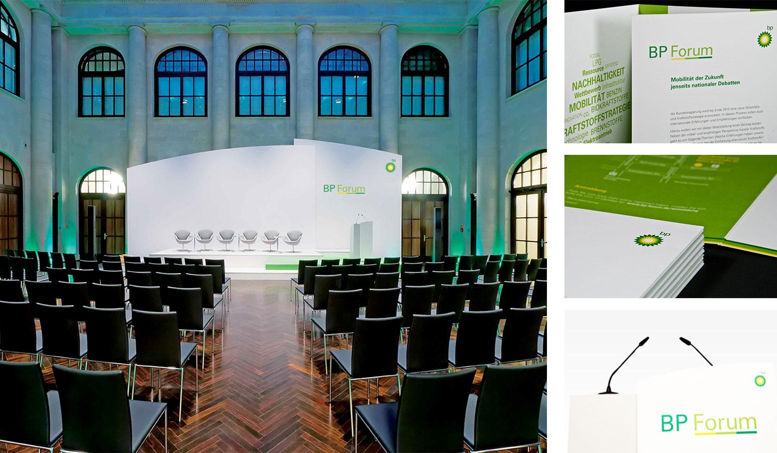 BP-Forum @ Humboldt Carré | © CB.e AG und www.printprinz.de