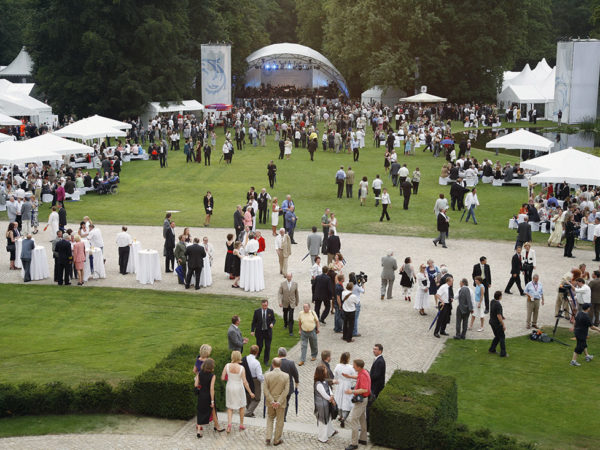 Sommerfest des Bundespräsidenten | Schlosspark Bellevue| © photocube.de