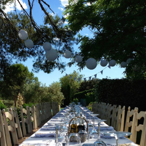 White Wedding Dinner Provençal