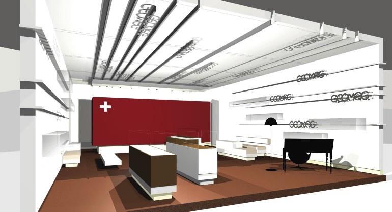 Walther Schütte - Kommunikation im Raum 332
